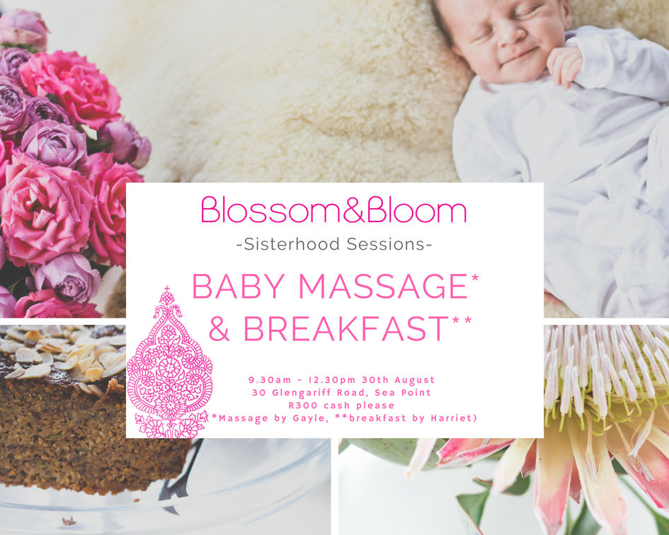 Baby massage and breakfast August 2018